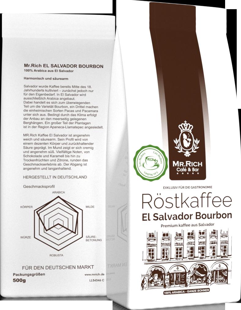 Mr.Rich El Salvador Bourbon 500 г. зерно