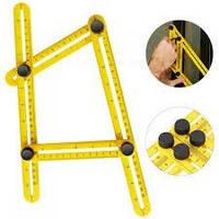 Профессиональная линейка для измерения углов Multifunctional Folding Ruler
