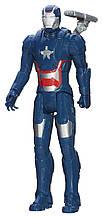 Игрушка Hasbro Железный Патриот (Мстители) 30 см, серии Титаны - Iron Patriot, Avengers, Titan Hero