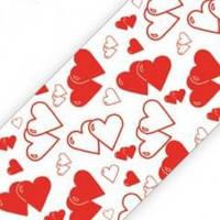Сердечки бордюрная лента для тортов 5 метров