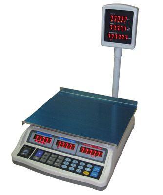 Торговые весы электронные настольные Днепровес F902H-E