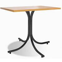 Обеденный стол Rozana (Розана) black/alu, фото 1
