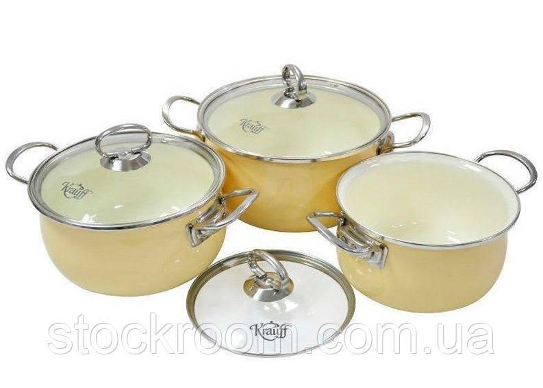 Набор эмалированной посуды Krauff 26-224-024