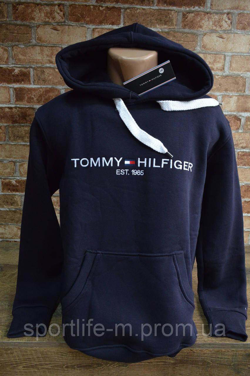 6021-Tommy Hilfiger мужская толстовка. Капюшон.
