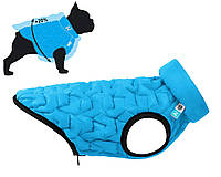 Куртка Airy Vest Uni S 33 жилет чорно-блакитний одяг для собак