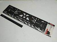 Рамка номерного знака (1 шт.) Carlife (NH02) спорт