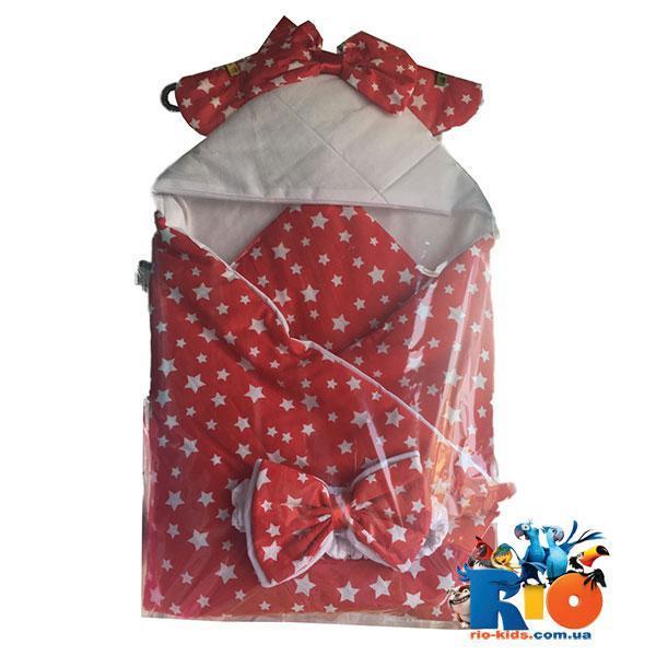 """Детский конверт """"Звезда""""  для новорожденных, 1 ед. в упаковке"""