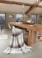 Плед шерстяной Biederlack Check wool 725554 130х170 см