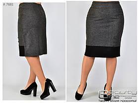 Женская юбка, батал Размеры 50.52.54.56.58