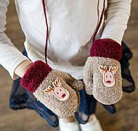 Детские перчатки, варежки оптом: огромный выбор моделей от 7км