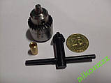 Мини патрон кулачковый PCB для мини дрель . + втулка для напрессовки  . Гравер, фото 2