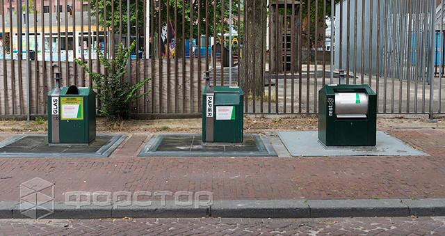 Подъемники для мусорных контейнеров