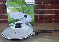 Сковорода, керамическое покрытие 28 см Green Life GL-2028