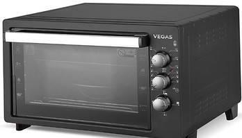 Электрическая духовка VEGAS VEOС - 9846 + вертел + конвекция 46 литров, фото 2