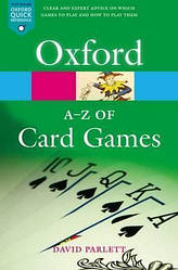 Oxford Dictionary A-Z of Card Games