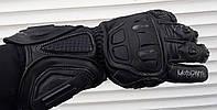 Мото перчатки Moto sparta краги черные кожаные XL, фото 1