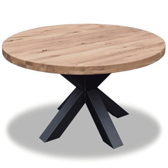 """Круглий стіл з масиву """"Рон"""" від виробника DomRom"""