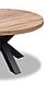 """Круглий стіл з масиву """"Рон"""" від виробника DomRom, фото 2"""