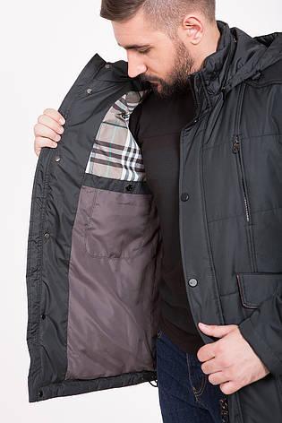 Демисезонная (весна / осень) куртка с капюшоном CW14MC89 #401_хаки, фото 2