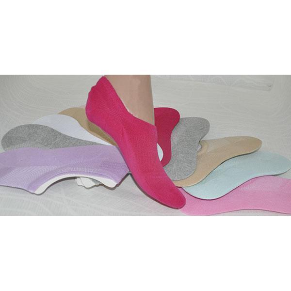 Детские носки укороченные(80%- хлопок,15%-полиамид, 5%- эласта), р-р  38-41, с тормозами (12 ед в уп.)