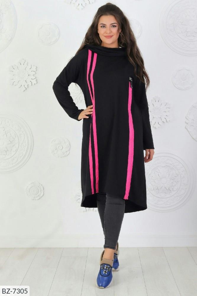 Стильное платье   (размеры 50-56) 0214-06