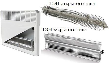 Особенности нагревательного элемента конвектора Roda RSP-2000
