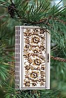 Шкатулка-конверт для денег из дерева Цветы