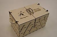 Органайзер рукодельника из дерева, из фанеры
