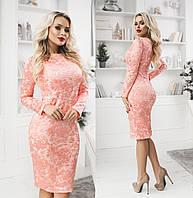Ошатне плаття жіноче ТК/-3016 - Персик, фото 1