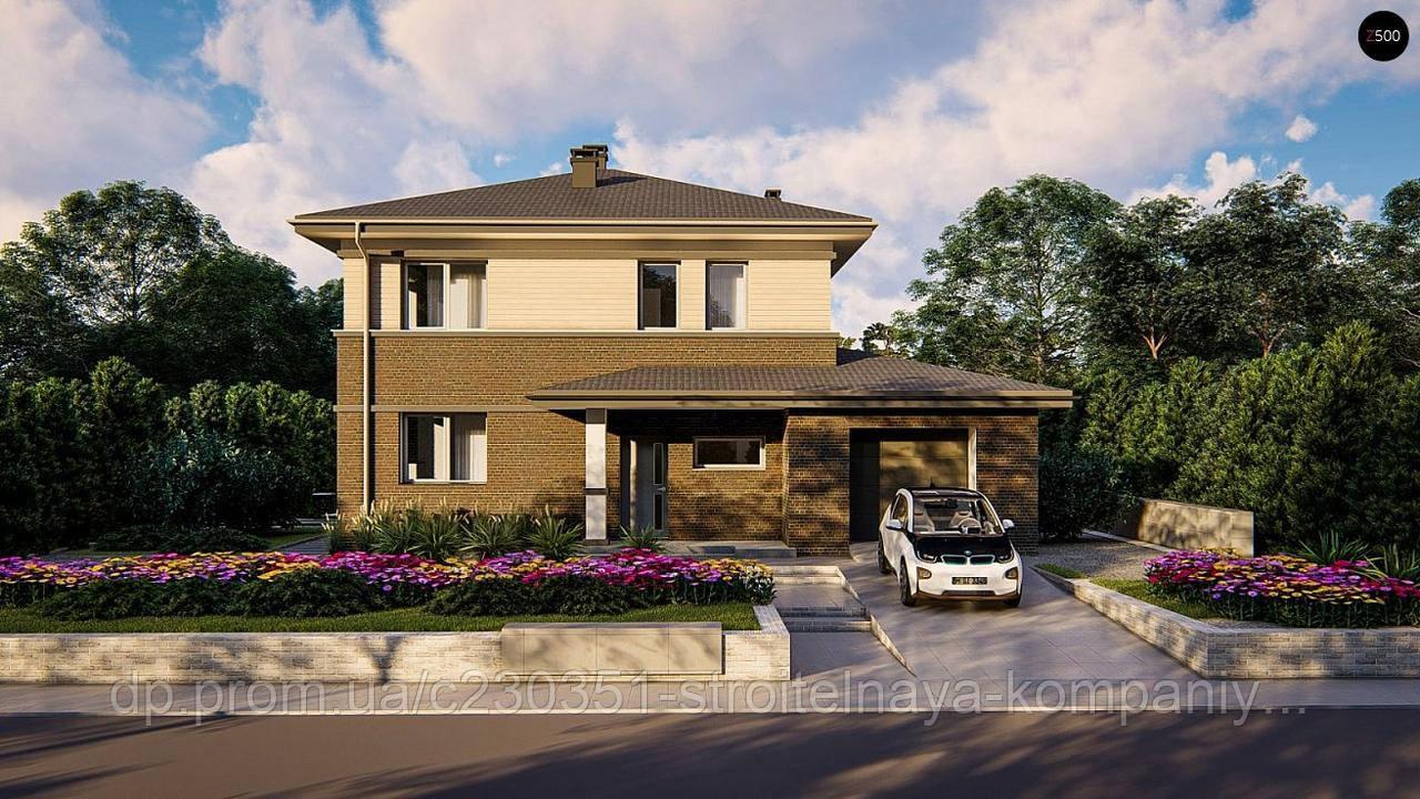 Проект дома uskd-74