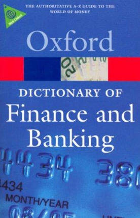 Oxford Dictionary of Finance and Banking, фото 2