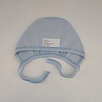 Чепчик теплый для новорожденного в роддом (футер), р. 0-1 мес.