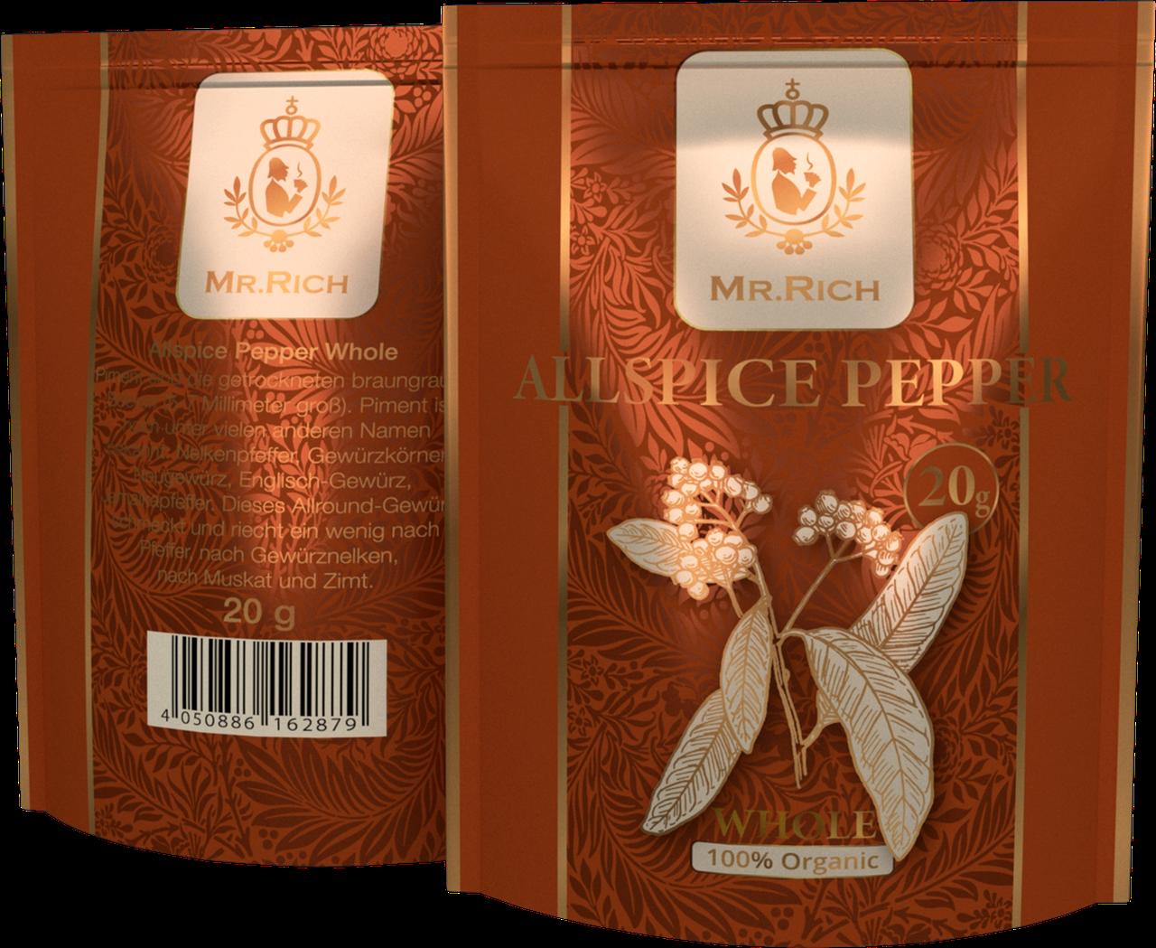 Mr.Rich Whole Allspice Pepper 20 р.