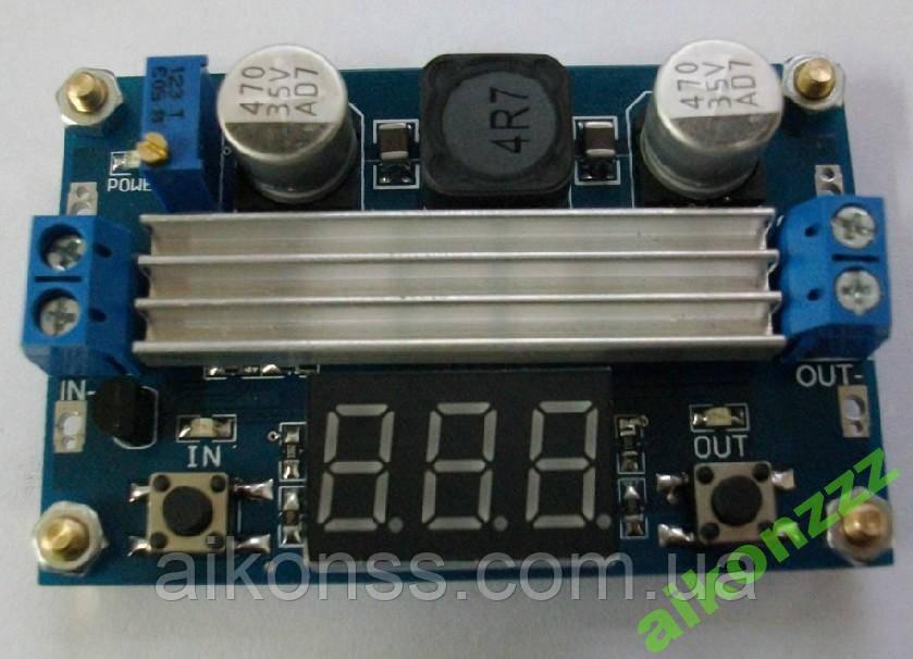 LED 3-35V 100W DC-DC підвищує модуль цифрової