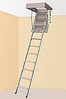 Горищні сходи Bukwood ECO Metal 90х80, 90х90, 100х80, 100х90, фото 1