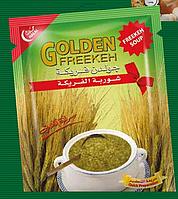 Суп из фрики (зеленой пшеницы)
