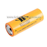 Аккумулятор(аккумулятор для фонаря) 26650-6800mAh