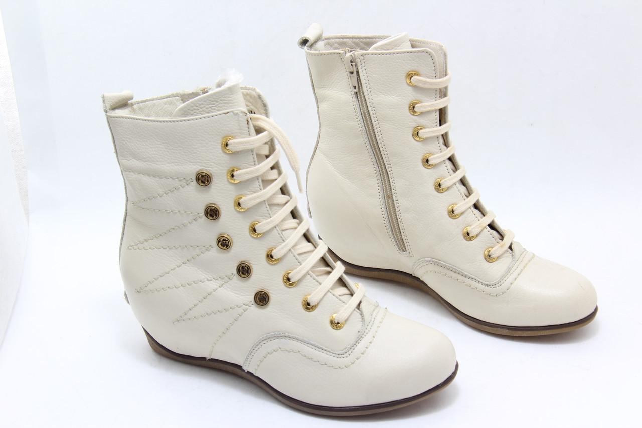 Кожаные зимние ботинки Phany B5-B