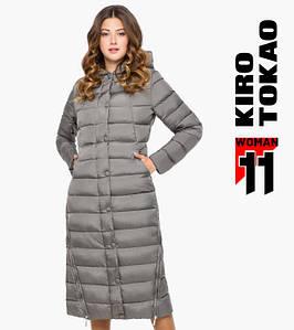 11 Kiro Tokao | Зимняя куртка женская 925 серая