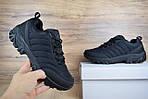 Чоловічі зимові чоботи з хутром Merrell Vibram (чорні), фото 4