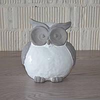 Фигурка совы, керамика (17х16х11 см.)
