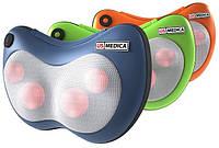 Массажная подушка US MEDICA Apple США - для массажа шеи, спины и ног с подогревом