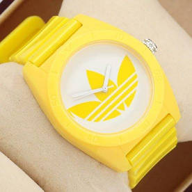Наручные часы эконом Adidas Log 0927 Yelloy\White