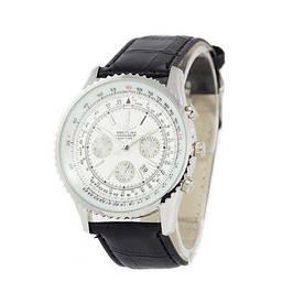 Наручные часы эконом Breitling Chronometre Navitimer Black/Silver/White