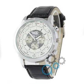 Наручные часы эконом Breitling Transokean Black/Silver/White