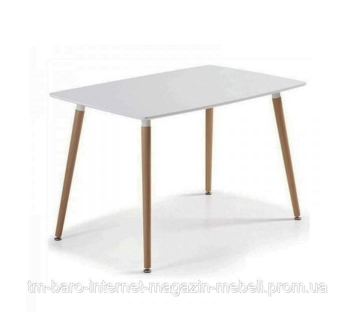 Стол Нури 120х80, белый