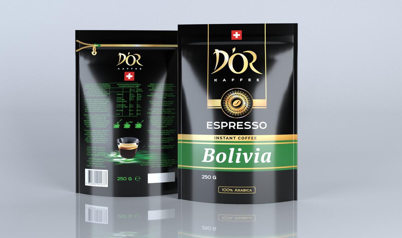 DOR Espresso Bolivia 250 р. розчинний