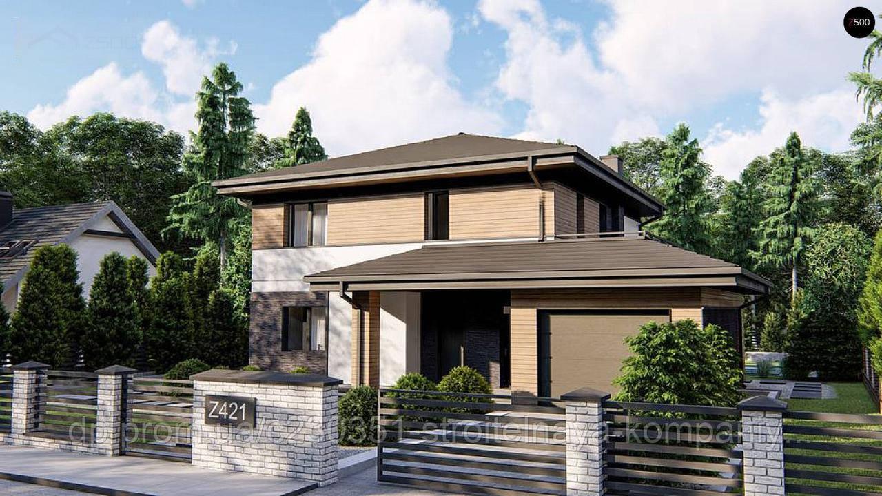 Проект дома uskd-80