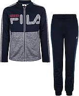 Спортивный костюм для мальчиков Fila, сапфировый, 140