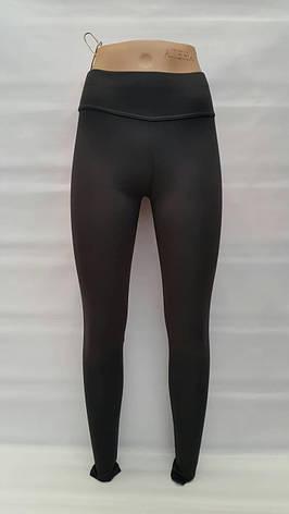 Лосины теплые подростковые 40,42,44,46 размеры для девочек Черные, фото 2